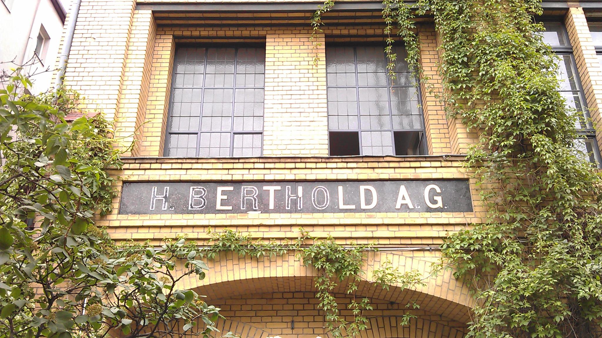 Berthold AG Eingang